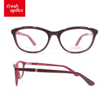 Factory Directly Provide Anime Glasses Frame Acetate Optical Frame ...