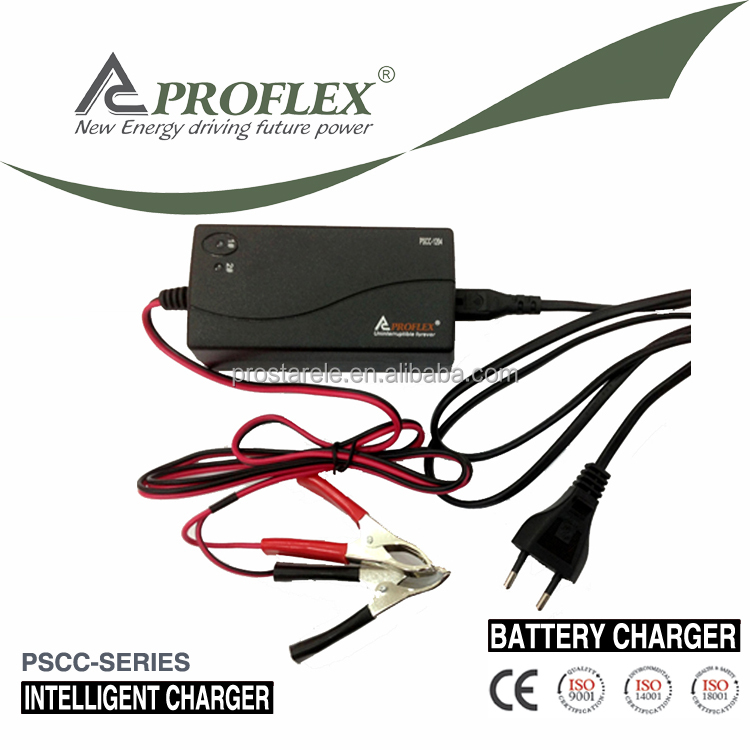 High frequency Sealed Rechargeable Electric Bike Lead Acid Battery Charger 12V 4A For Car Motorcycle Truck