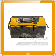 Open Mouth Tool Bag With Multiple internal and external pockets