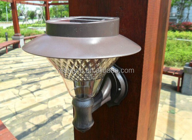 Wholesale Solar outdoor decorative led wall light/solar led ...