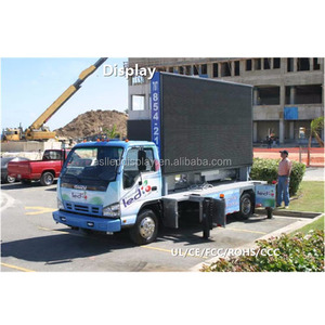 Cheap led TV billboard Price p10 Outdoor full color Truck Mobile LED sign  paper Thin Digit Ads screen for sale