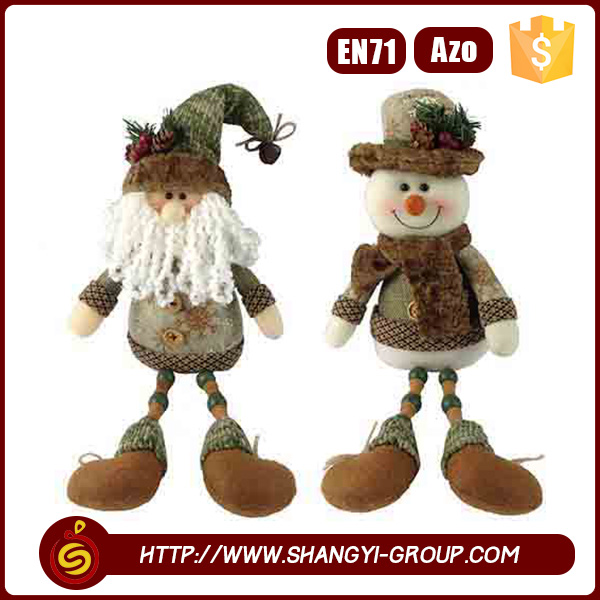 Hot sale door hanging decoration Christmas 2016 holiday dolls