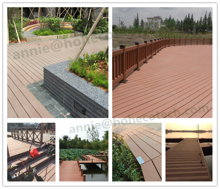 Hollow cheap composite decking board buy hollow decking for Cheapest place for decking boards