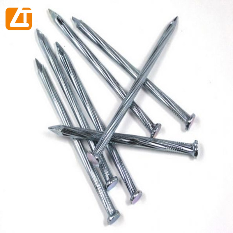 Tianjin factory zinc coated electric galvanized concrete steel <strong>nail</strong>