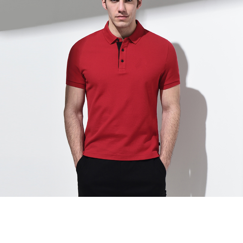 2017 summer new style super soft men's polo shirts