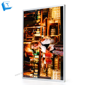 New design indoor super slim led light box