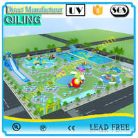 China best price professional backyard inflatable play ground water park for sale ,water park business plan