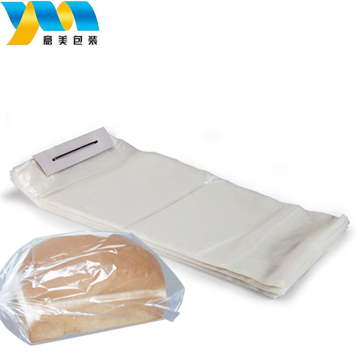 Factory price custom food packaging plastic bag to extend 3 times shelf life of food clear bread plastic bag