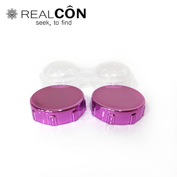 Wholesale Contact Lenses Accessories Lens Travel Kit Electroplate Material Cases