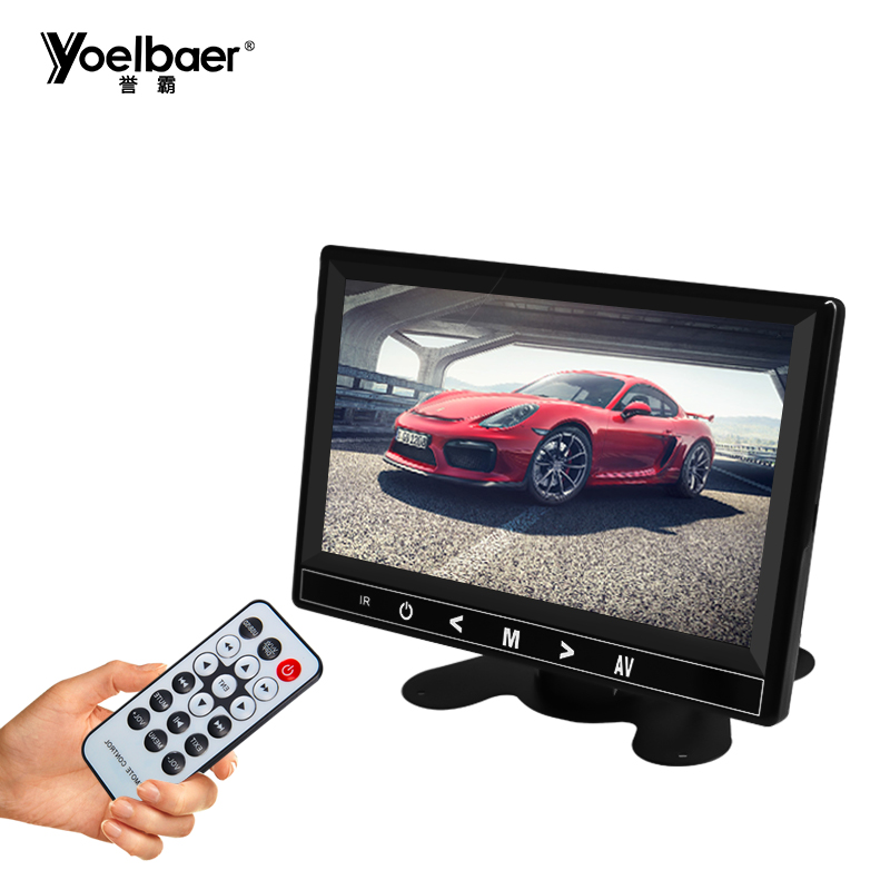 China Supplier Desktop Display Android Car Headrest Monitor 7 Inch Car Monitor
