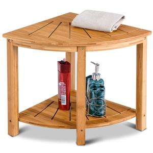 Bamboo Corner Shower Bench Bamboo Corner Shower Bench Suppliers And