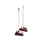 Alibaba Supplier Top 1 Eco-Friendly Fashion Household Foor Cleaning Plastic Broom With Stainless Steel Pipe