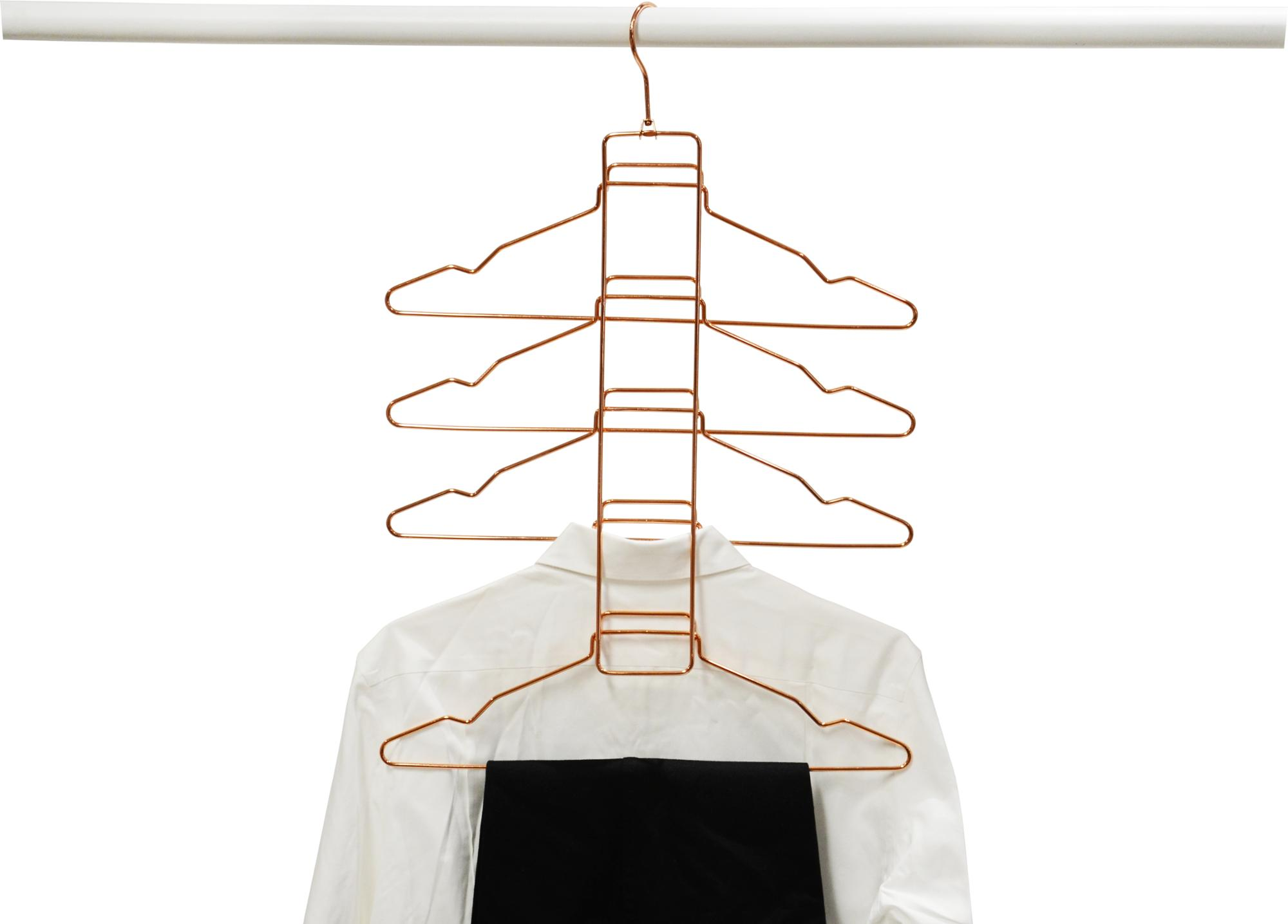 YIKAI magical metal space saving hanger