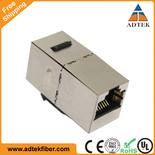 Wholesale Mountable Joiner Adapter F-F 8P8C LAN RJ45 Keystone Modular Coupler
