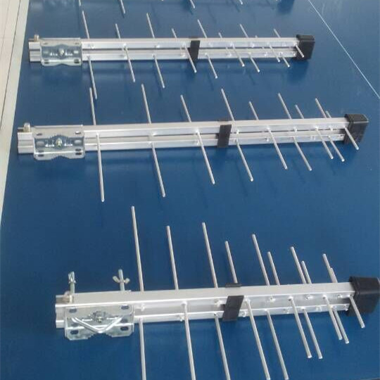 Yagi Antenna with Aluminium Wire Director and Aluminum Wire Reflector