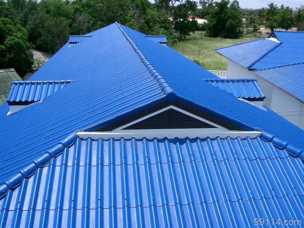 Corrugated roof cap metal roofing ridge cap roll forming for Metal hip roof