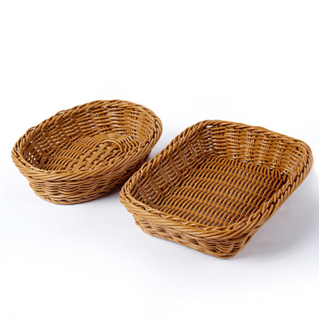 pp rattan wicker toy saklama sepeti