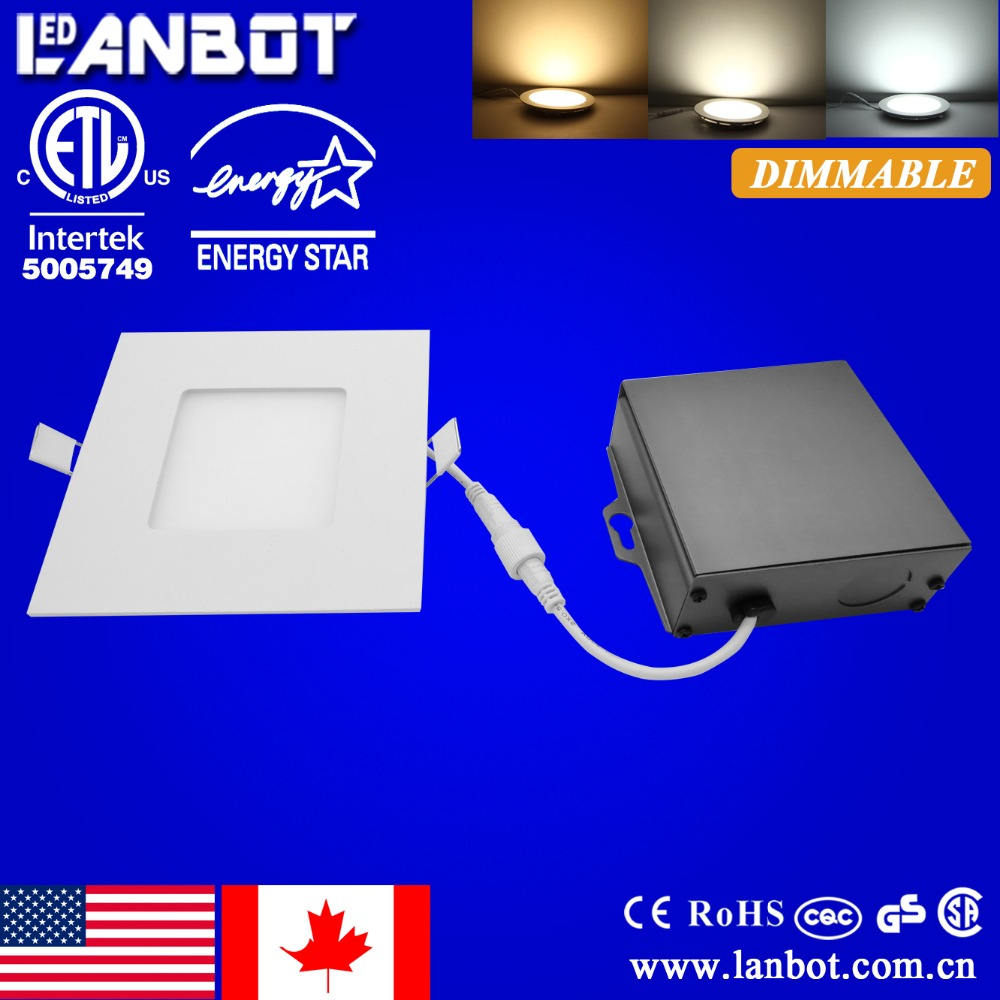 new popular design 2700-5000K IC rated dimmable 12w recessed led downlight for Canada and USA market
