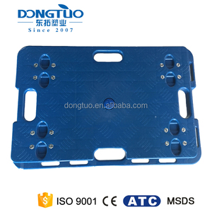150kg capacity heavy duty dolly, 4 hydraulic wheel dolly, platform plastic moving dolly