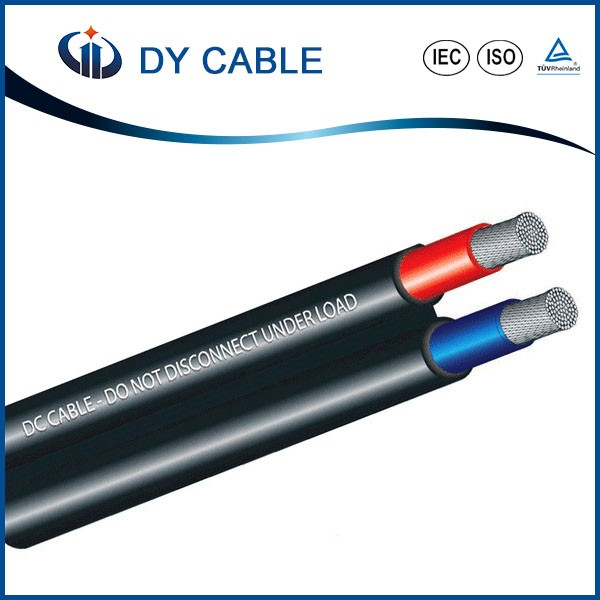 Dual Core Cables : Dual core dc solar cable parallel twin wire for