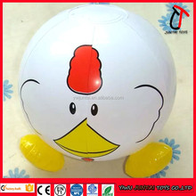 Inflatable beach ball cartoon beach ball small animal model