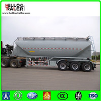 3 axle flour powder bulk truck trailer good quality trailer sales