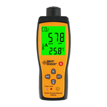 Portable Carbon Dioxide detector co2 gas analyzer tester with rechargeable battery