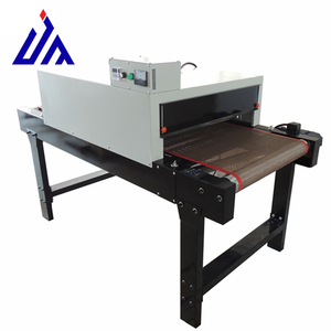 screen printing tunnel dryer machine with electric conveyor belt for T-shirt dryer