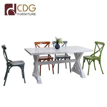 Vintage Klassische Restaurant Hochzeit Im Freien Party Tisch Stuhl