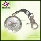 pocket compass,compass with keychain,zinc alloy pocket compass