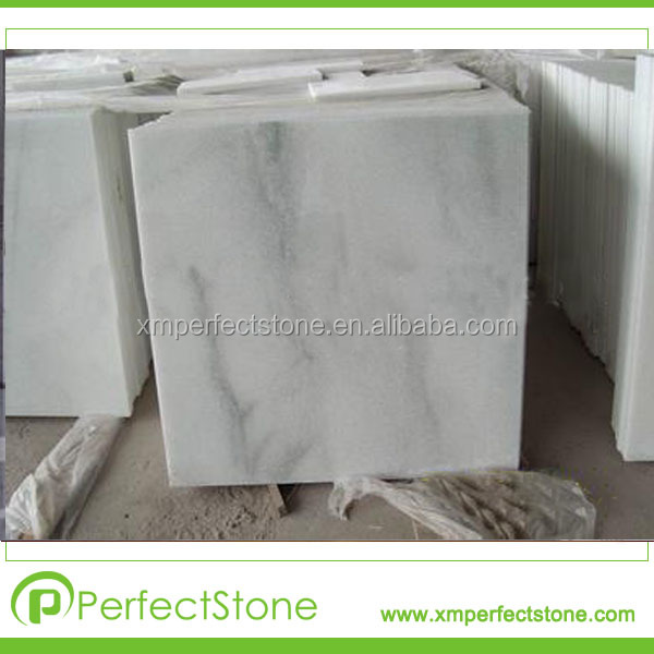 Snow White marble clean pure white marble bathroom tile flooring