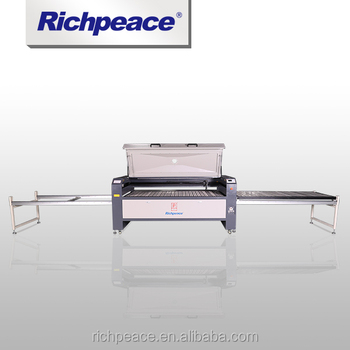 Richpeace Template Laser Cutting Machine (with movable tables on both left & right)