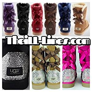 74d2883df91 Buy Custom Bailey Bow UGG Boots Made with Swarovski Bailey Bow Free ...