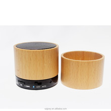 Promotional cheap selling cheap mini bluetooth wooden speaker MP3 music player