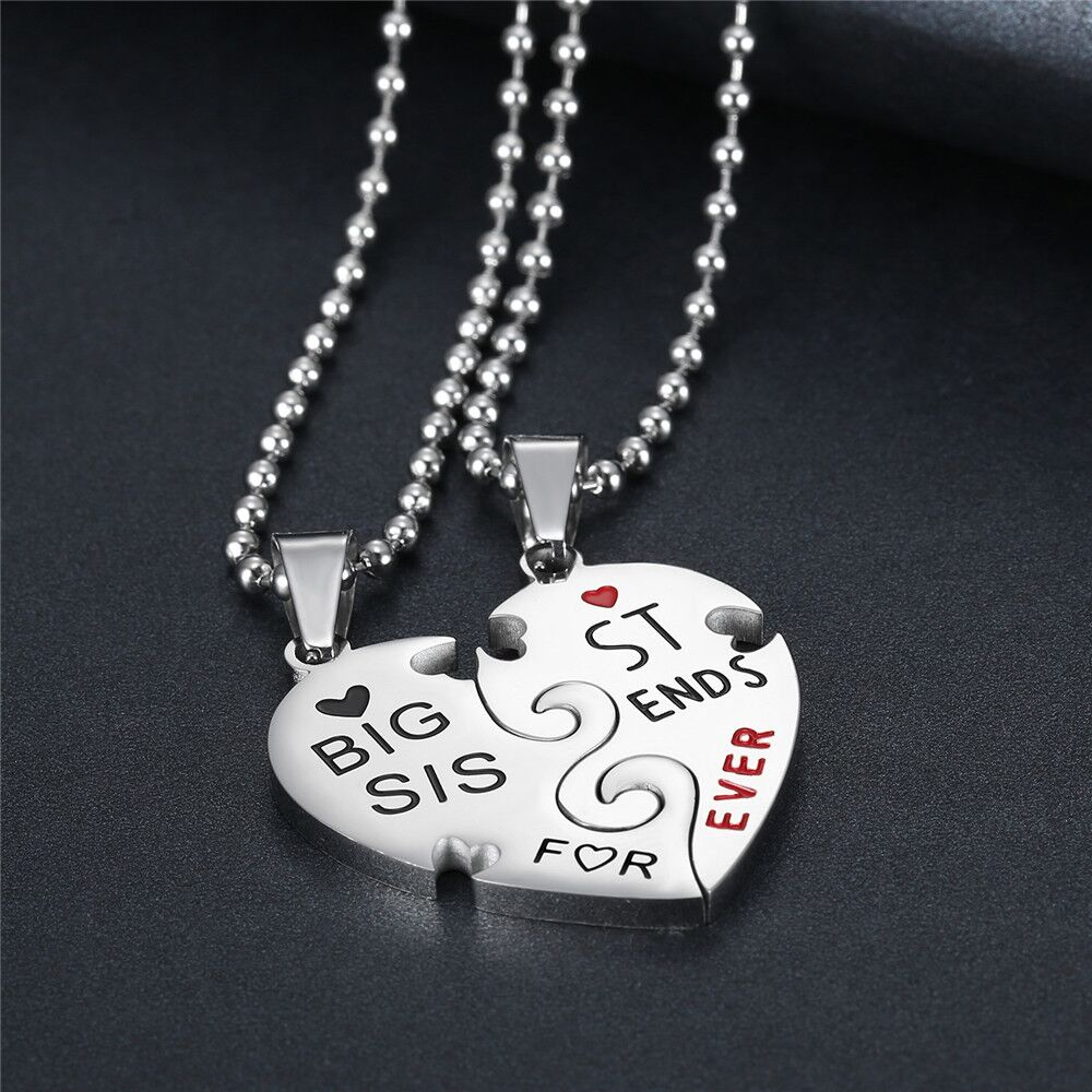 Shengyou Jewelry Stainless Steel Heart Pendant Necklace for Couples