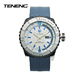 TENENG Hot Sale Casual Analog Silicone Band Unisex Brand Watch