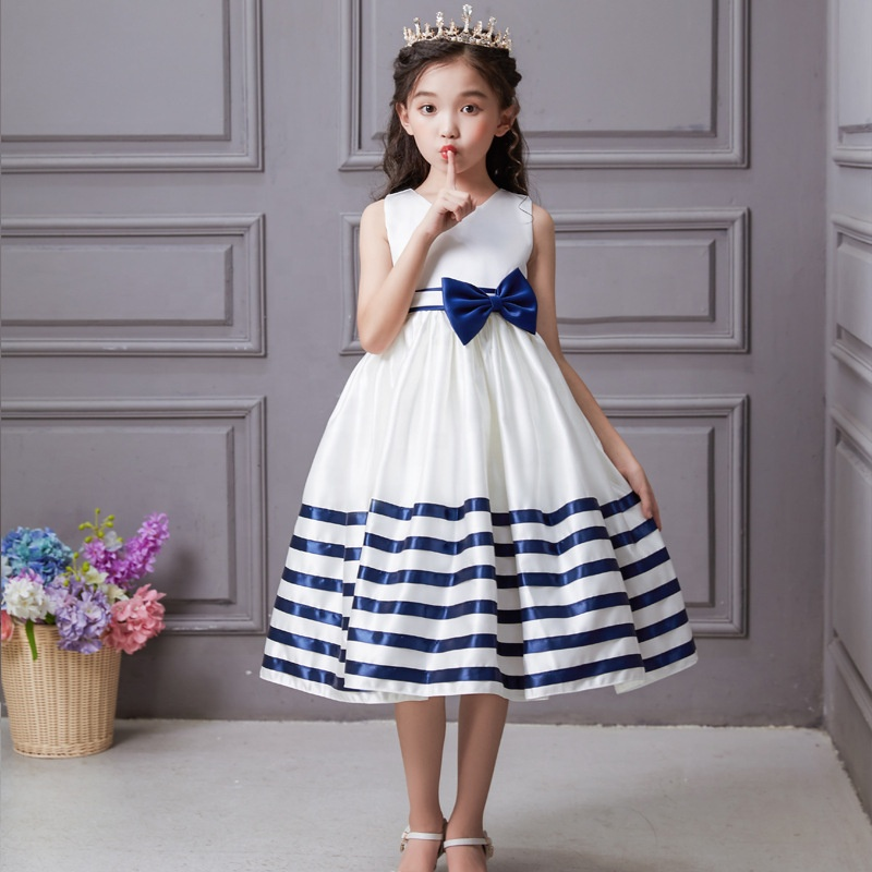 2019 New Arrivals Birthday Striped Dresses Kids Girl Wear Party Children  Low Price Frock , Buy Dresses Kids Girl Wear Party Children,2019 New  Arrivals