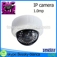 High quality IP Dome Camera,ip wireless wired camera software,easy to install p2p ip camera