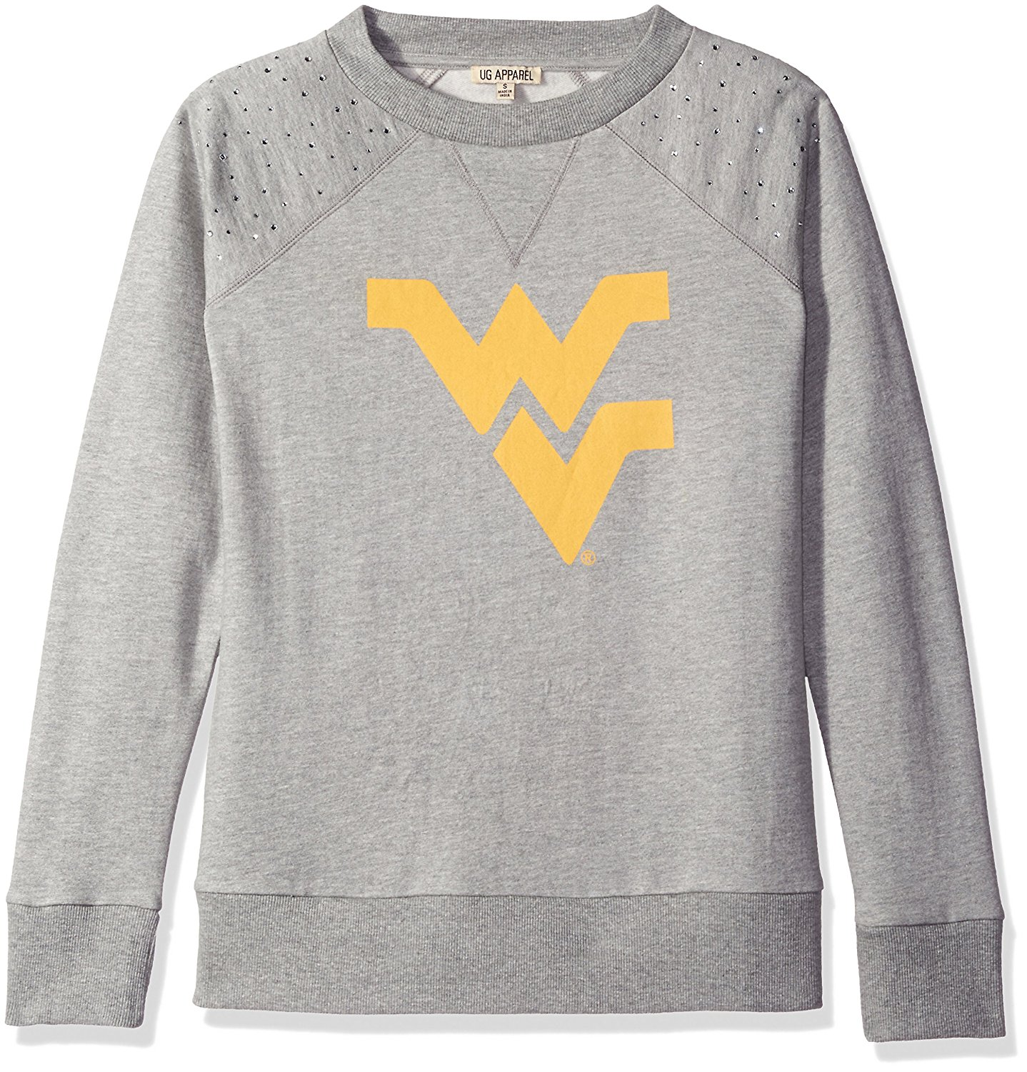 cdf906fdc UG Apparel Women's Plus Size West Virginia University Mountaineers Pullover