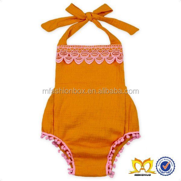 Toddler Peach Lace Bloomer Toddlers Diaper Cover Wholesale Baby Ruffle Bloomers