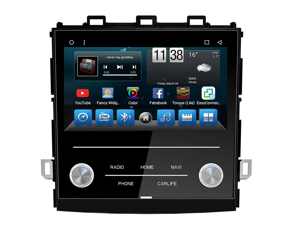8 '' Octa Core Android 8.1 Auto-DVD-Player Multimedia-Hauptgerät Radio GPS-Navigation für Subaru XV 2018
