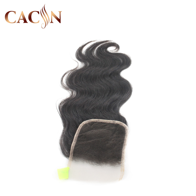 Wholesale cheap brazilian human hair super fine swiss body wave 7 by 7 lace closure