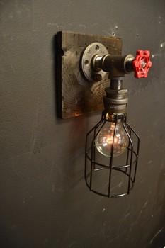 6 27 15 Steampunk Mobel Aus Holz Industrial Light Wandleuchte Alte