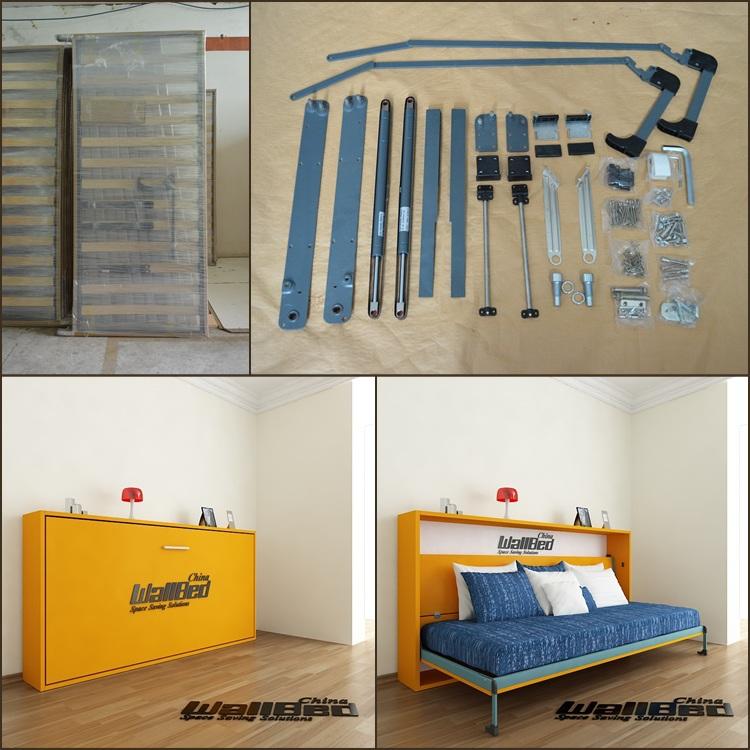 wall bed murphy bed mechanism hidden wall bed hardware kit - Murphy Bed Kits