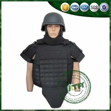 Full Protection Bulletproof Vest with Collar and Groin Protection