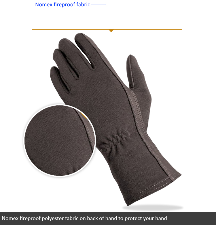 Touch Screen Tactical Pilot Nomex Fire Resistant Flight Flyers Gloves-All Sizes