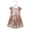 Baby Clothes cute kid dress party cool bronze sequins rts girl casual dress