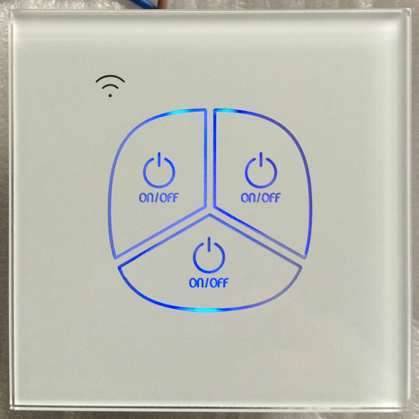 Uk/eu Standard Remote Control 2 Way Optional Touch Switch,Led Back ...