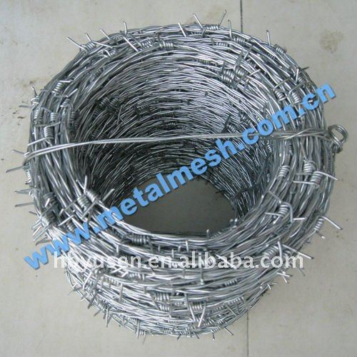 protecting of grass bounding,PVC Coated Barbed Iron Wire