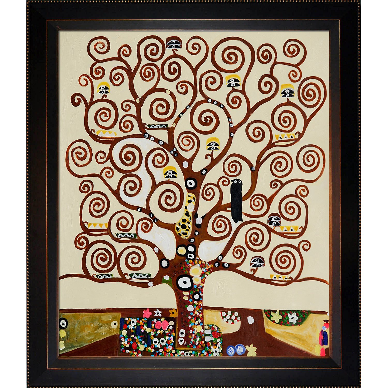 подарок дерево жизни климт постер вечно что-то